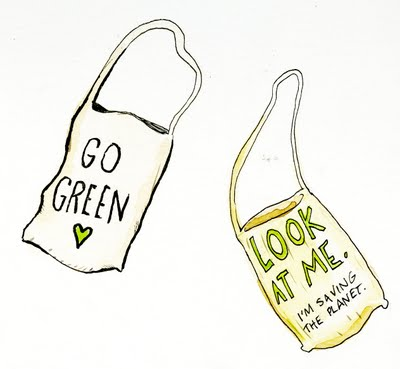 Verbal Vomit Green Bags
