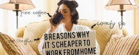 Cheaper to Work From Home