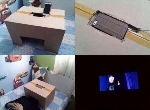 Movie Theater Iphone