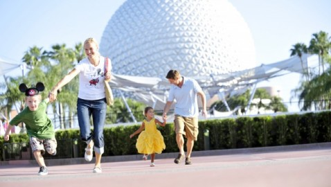 Disney Epcot Family