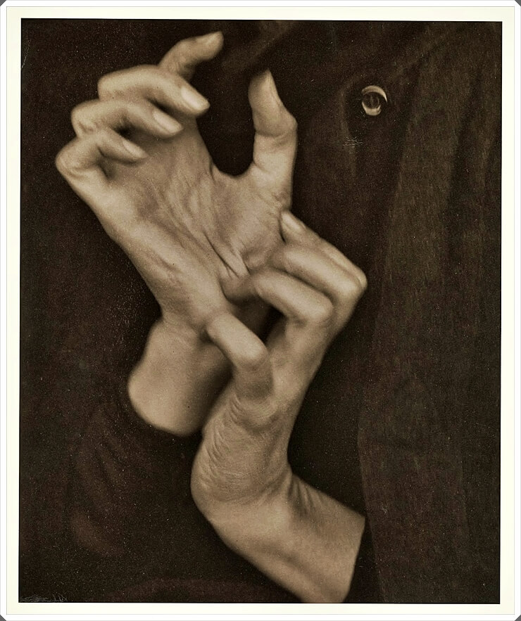 Georgia O'Keeffe--Hands, by Alfred Stieglitz (American, Hoboken, New Jersey 1864–1946 New York)