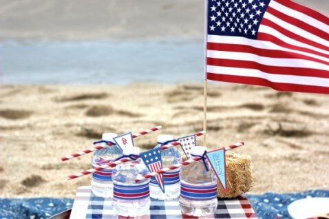 Fourth of July Beach