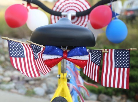 Fourth of July Bicycle