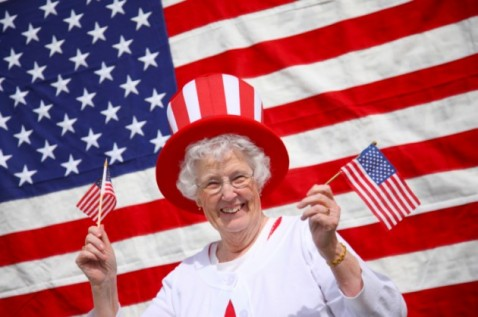 Fourth of July Senior