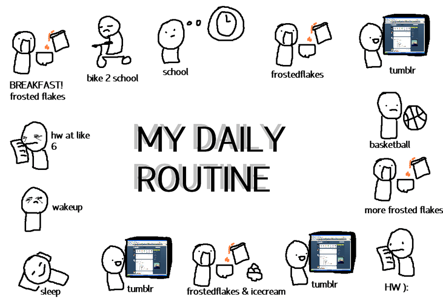 daily_routine_by_snabbledoo-d32lhkb