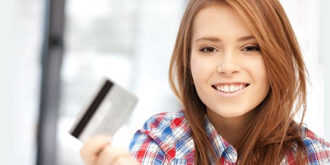 Credit Card Young Girl