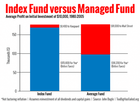 Index vs Managed Fund
