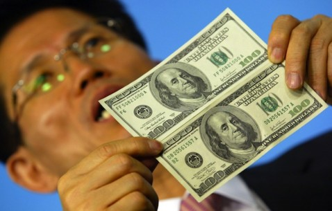 South Korean Lawmaker Urges Action On Greenback Counterfeiting