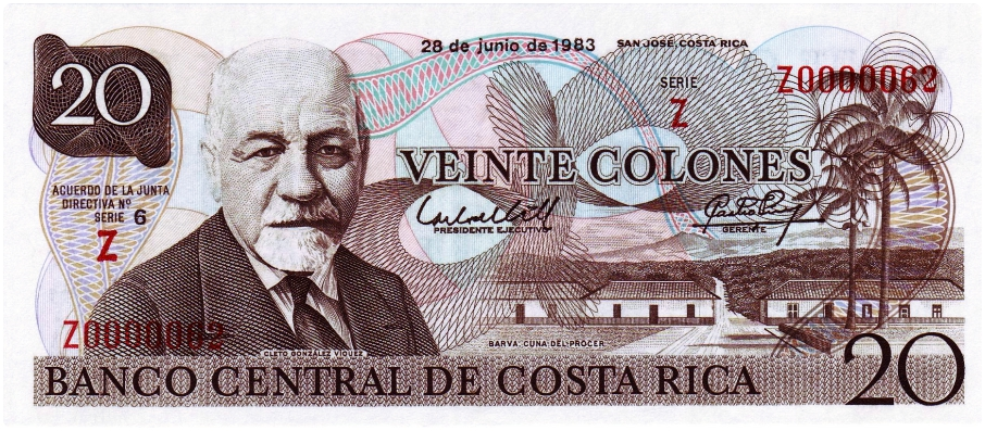 Currency_Costa Rica
