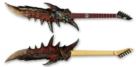 Monster Hunter Guitar