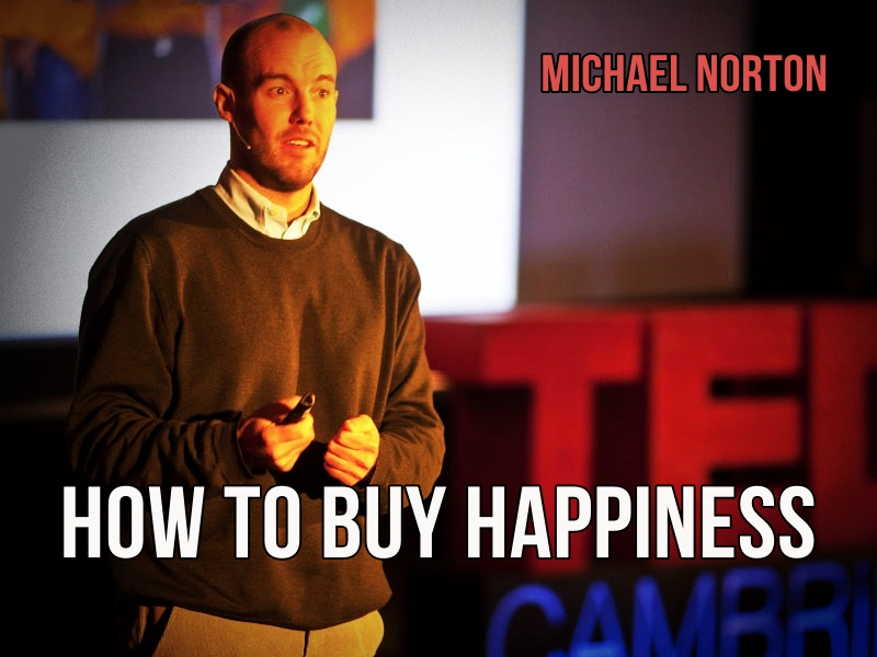 TED-How to buy happiness