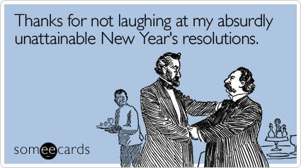 ... Thanks Not Laughing Absurdly New Years Ecard Someecards